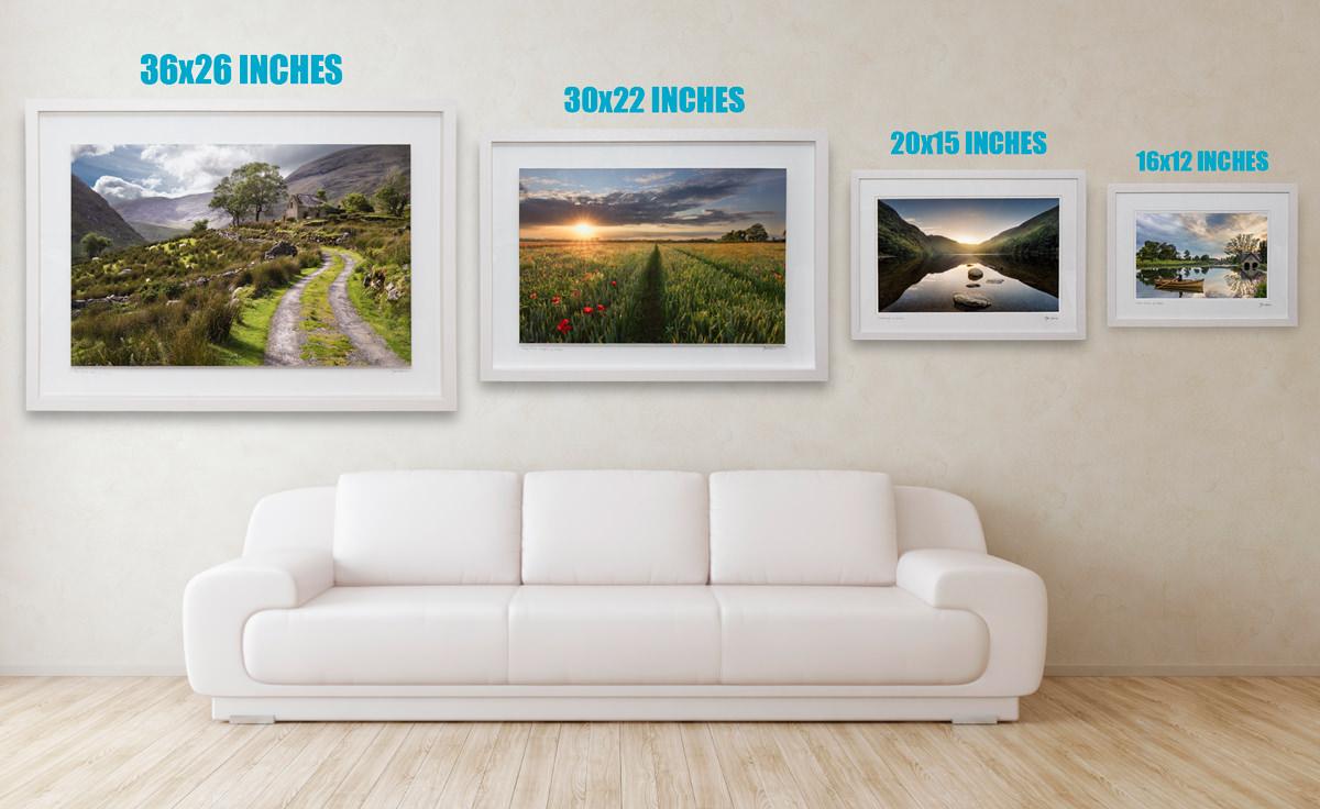 Standard Landscape Frame Sizes
