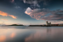 Sunset at Howth Harbour Lighthouse