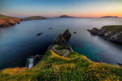 Sunset at Dunquin Pier in County Kerry