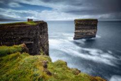 Sea Stack at Downpatrick Head County Mayo