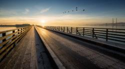 The Wooden Bridge Clontarf