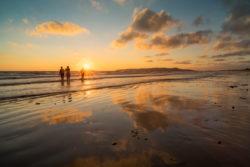 Sunrise swim Portmarnock Beach